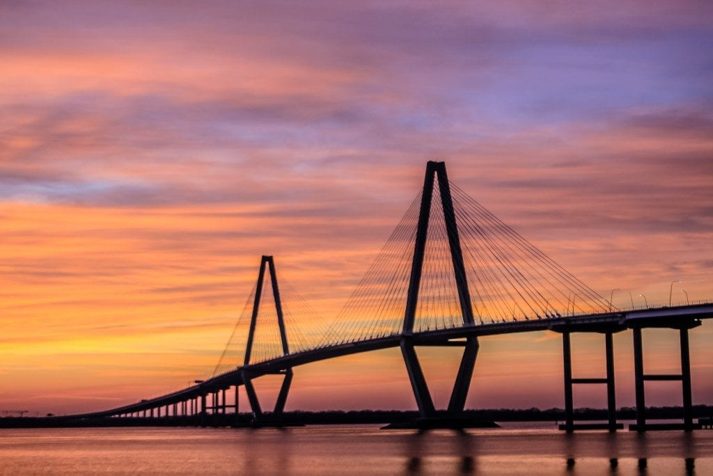 Ravenell Bridge in Charleston SC