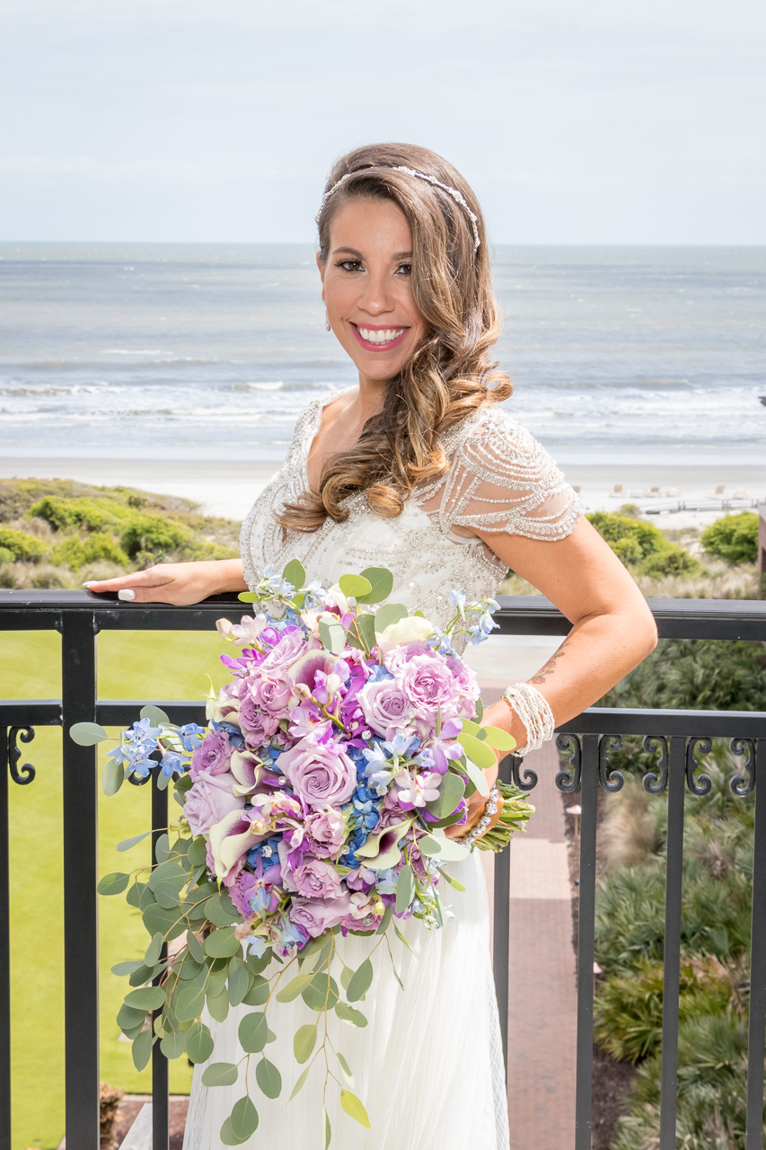 Sanctuary at Kiawah island wedding bride