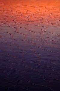 ocean ripples in sand