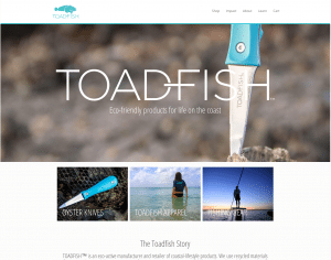 Toadfish Outfitters Website