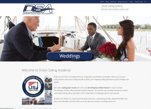 Ocean Sailing Academy web