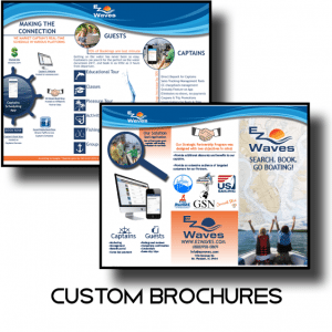 Custom business and informative brochures