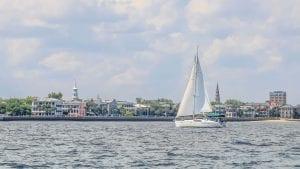 The Battery on Charleston Harbor