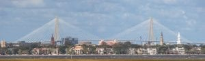 Beautiful picture of the Charleston Skyline