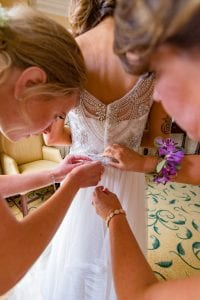 Sanctuary at Kiawah island wedding bridal suite