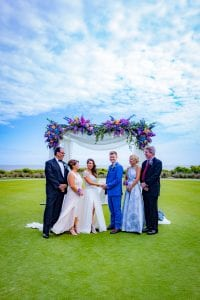 Sanctuary at Kiawah island outdoor wedding on grand lawn
