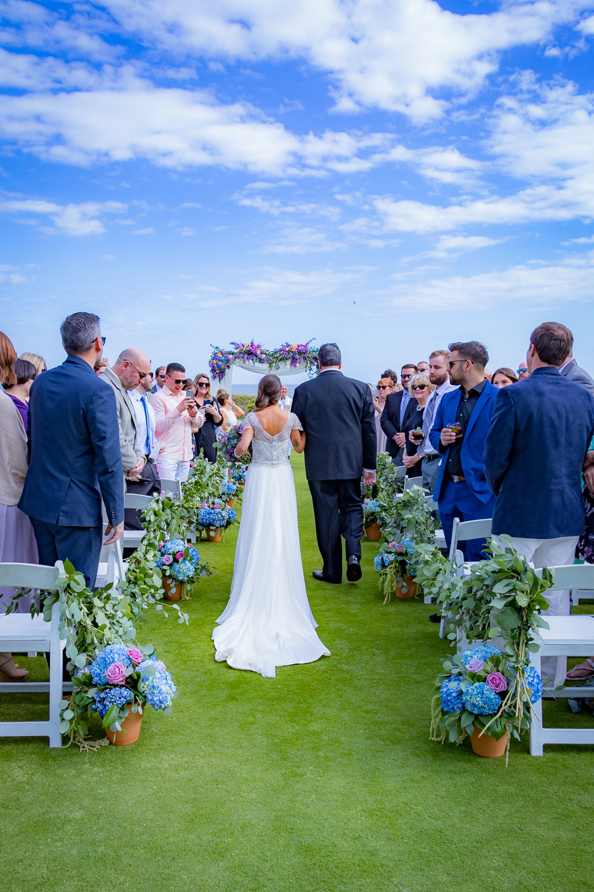 Sanctuary at Kiawah island outdoor wedding