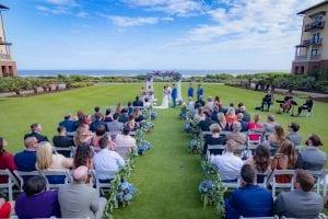 Sanctuary at Kiawah island outdoor wedding